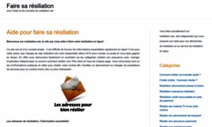 Resiliation.net thumbnail