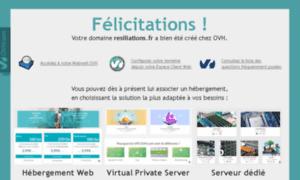 Resiliations.fr thumbnail