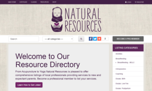 Resourcedirectory.naturalresources-sf.com thumbnail