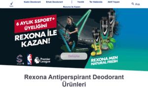 Rexona.com.tr thumbnail