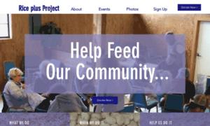 Riceplusproject.org thumbnail