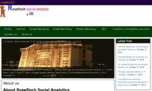Rosefinch-socialanalytics.in thumbnail