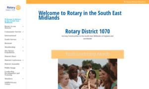 Rotary1070.org thumbnail
