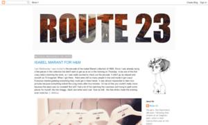 Routetwentythree.blogspot.co.at thumbnail