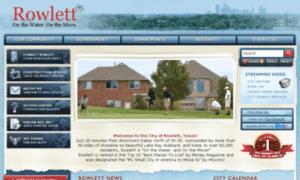 Rowlett-tx.net thumbnail