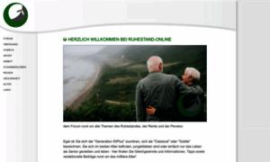 Ruhestand-online.de thumbnail