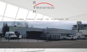 Rvh-metallbau.de thumbnail