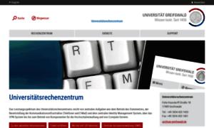 Rz.uni-greifswald.de thumbnail