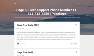 Sage50techsupportphonenumber.blogspot.com thumbnail