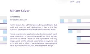 Salzerdesign.com thumbnail