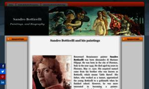 Sandro-botticelli.com thumbnail