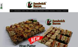 Sandwichbaron.co.za thumbnail