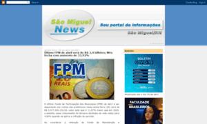 Saomiguelnews.com.br thumbnail