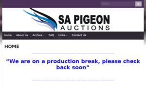 Sapigeonauctions.co.za thumbnail