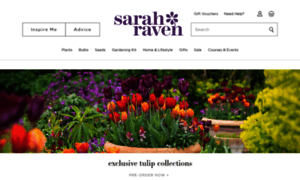 Sarahraven.com thumbnail