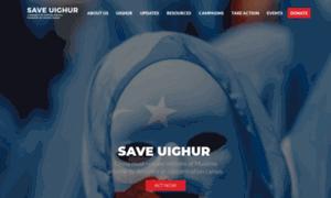 Saveuighur.org thumbnail
