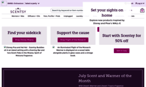 Scentstand.scentsy.us thumbnail