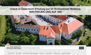 Schlosshotel-mailberg.at thumbnail