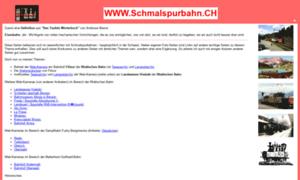 Schmalspurbahn.ch thumbnail
