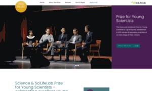 Scienceprize.scilifelab.se thumbnail