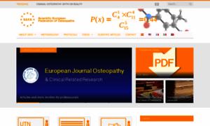 Scientific-european-federation-osteopaths.org thumbnail
