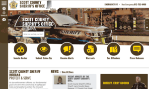 Scottcountysheriff.org thumbnail