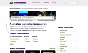 Screensaversplanet com review  Screensavers Planet reviews