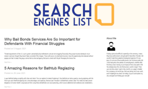 Searchengineslist.biz thumbnail
