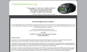 Seattledigitalliteracy.org thumbnail