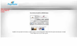 Secure.paymate.co.in thumbnail