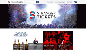 Secure.strangertickets.com thumbnail