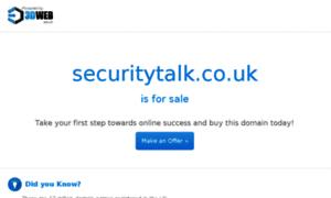 Securitytalk.co.uk thumbnail