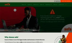 Sefa.org.za thumbnail