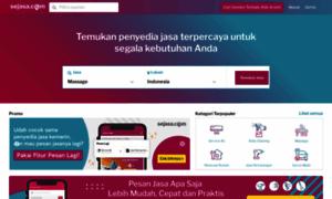 Sejasa.com server and hosting history on