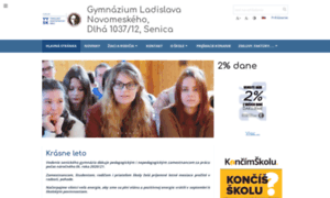 Sengym.edupage.sk thumbnail