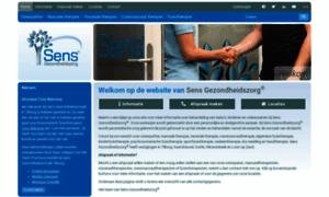 Sensgezondheidszorg.nl thumbnail