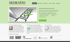 Seoratio.de thumbnail