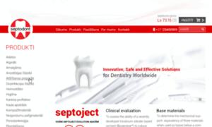 Septodont.page.lv thumbnail