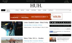 Server.huhmagazine.co.uk thumbnail
