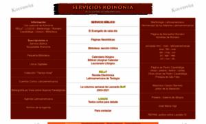 servicioskoinonia.org -