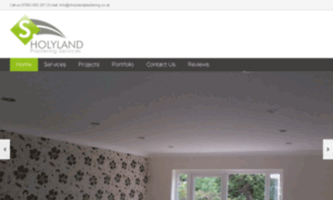 Sholylandplastering.co.uk thumbnail