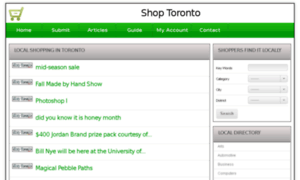 Shop-toronto.com thumbnail