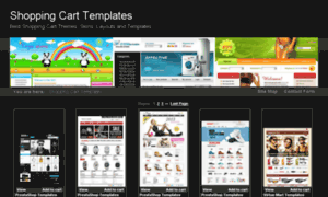 Shopping-cart-templates.net thumbnail