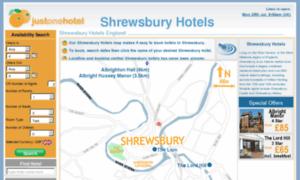 Shrewsbury-hotels.co.uk thumbnail