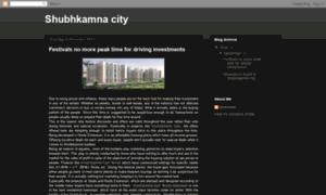 Shubhkamnacitynoida.blogspot.in thumbnail