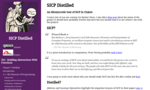 Sicpdistilled.com thumbnail