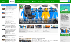 Simpeg.bantenprov.go.id: SIMPEG Pemerintah Provinsi Banten