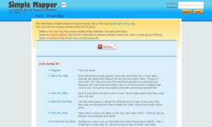Simplemapper.org thumbnail