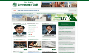 Sindh.gov.pk thumbnail