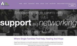 Singleparentadvocate.org thumbnail